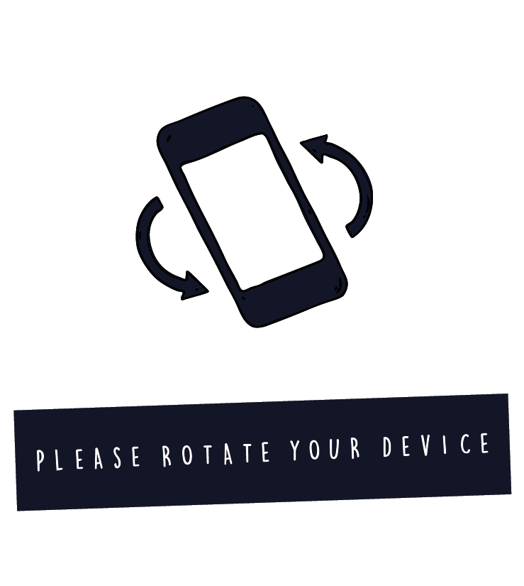 Please turn your device